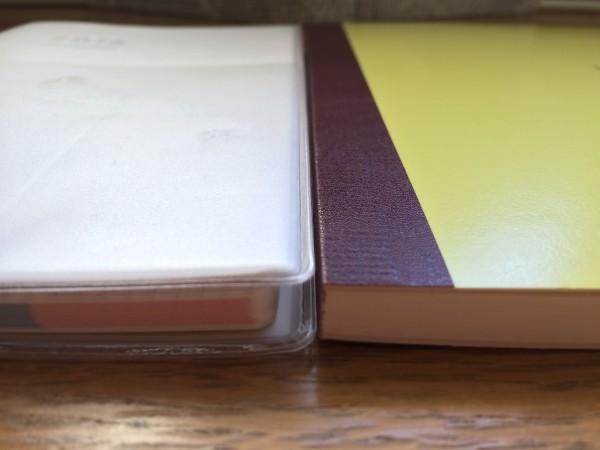 ほぼ日手帳とジブン手帳mini