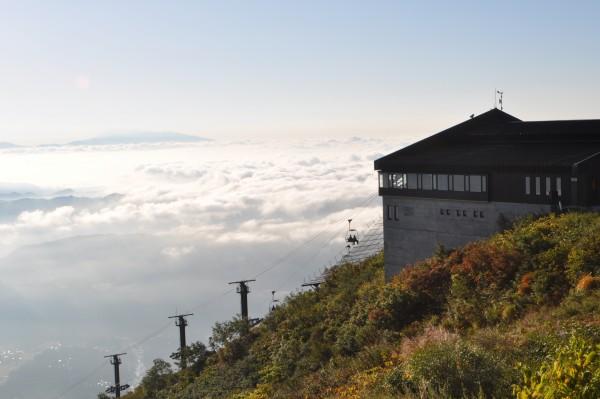 アルペンクワッドリフトと雲海