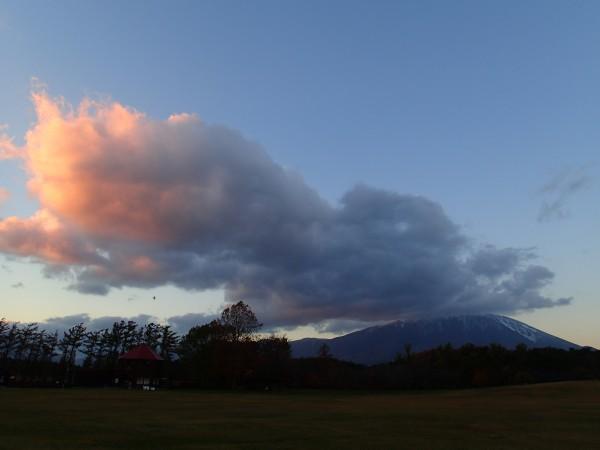 岩手山 夕景